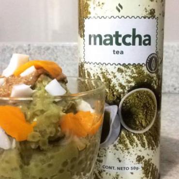 tapioca-matcha